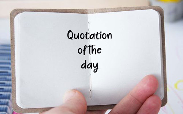 Quotation Of The Day BB La Locanda Del Geco Fascinating Quotation Of The Day
